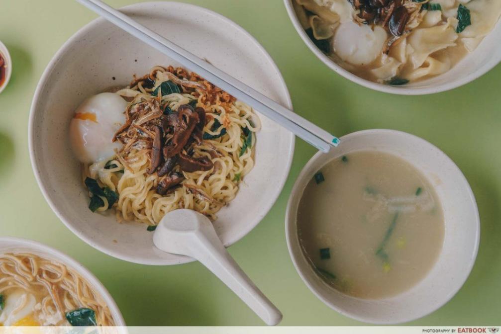 ban mian boon's noodles @ golden mile complex
