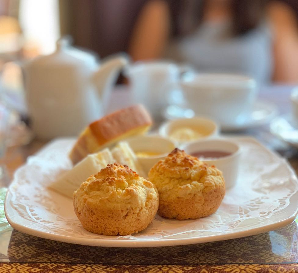 london dishes fosters scones