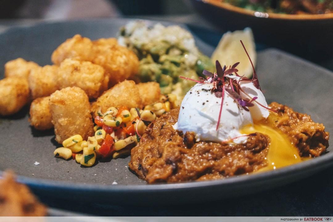 10 New Restaurants March - Kafe UTU Pulled Pork Breakfast