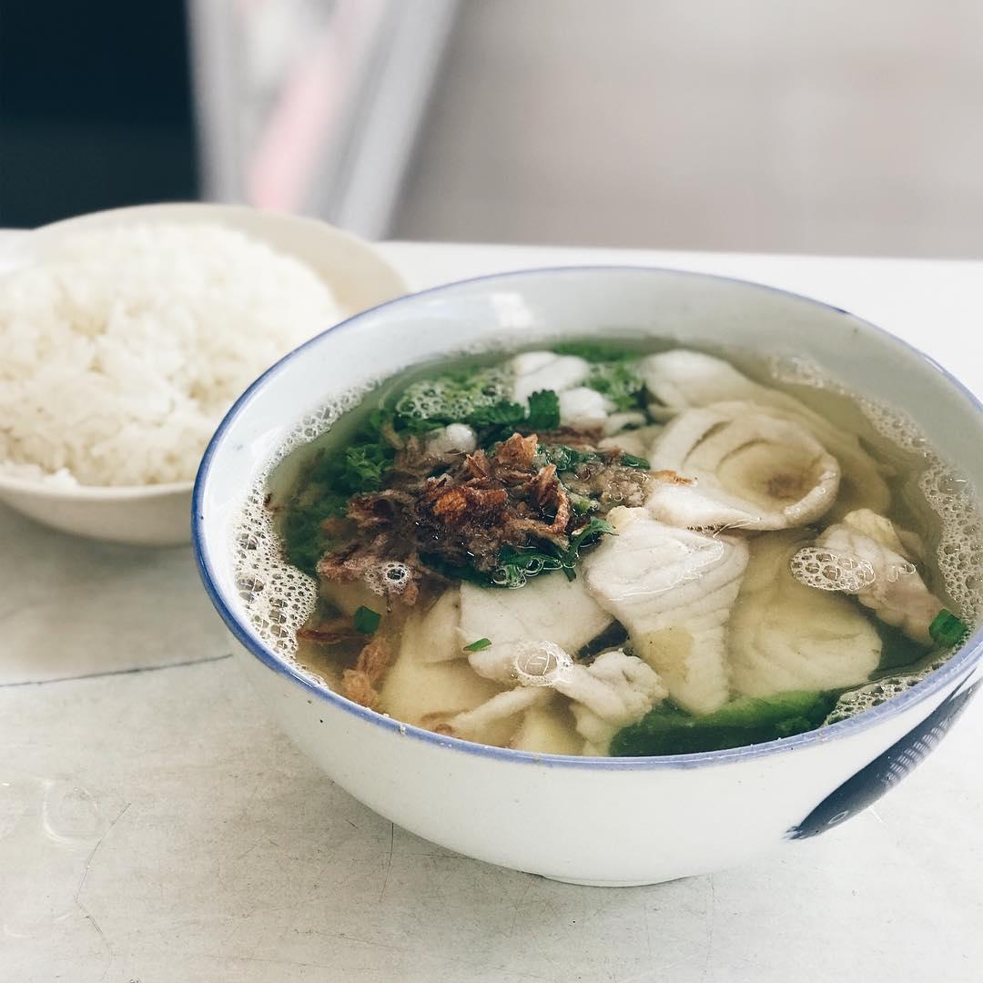 Free Fish Soup - First Street Teochew Fish Soup