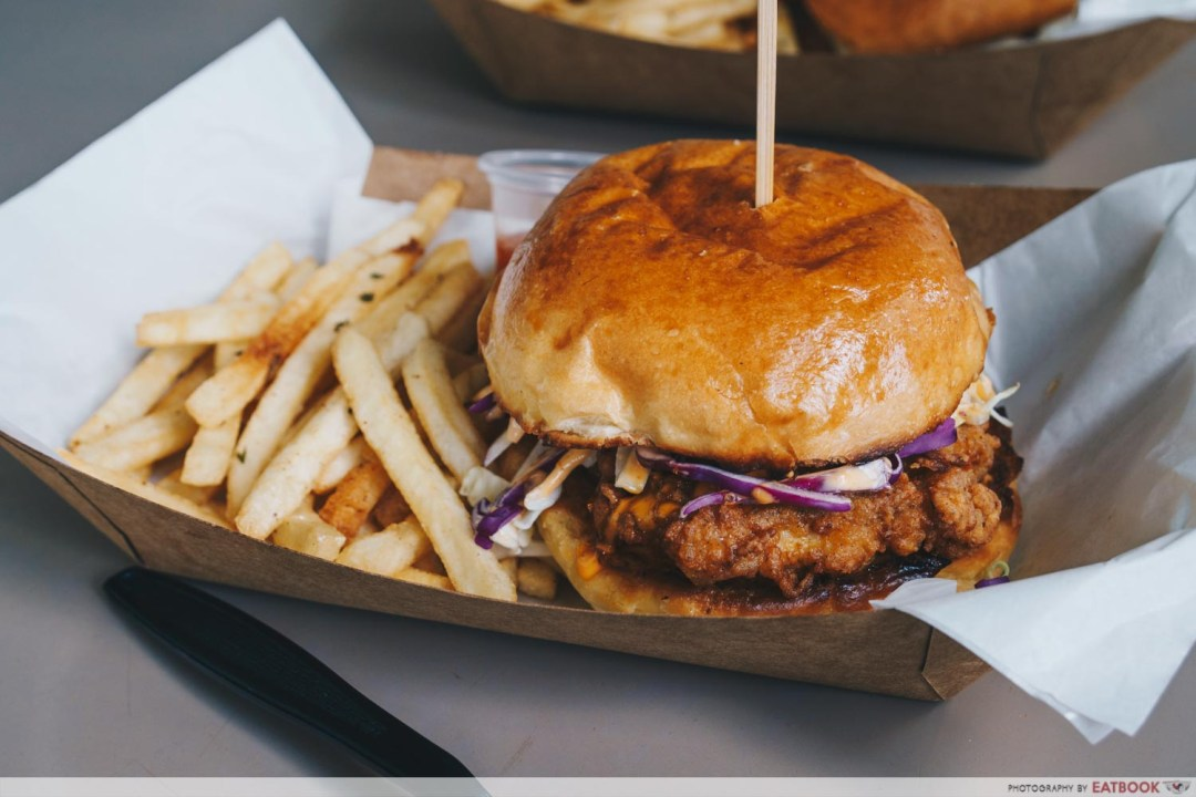 Hammee's fried chicken burger intro