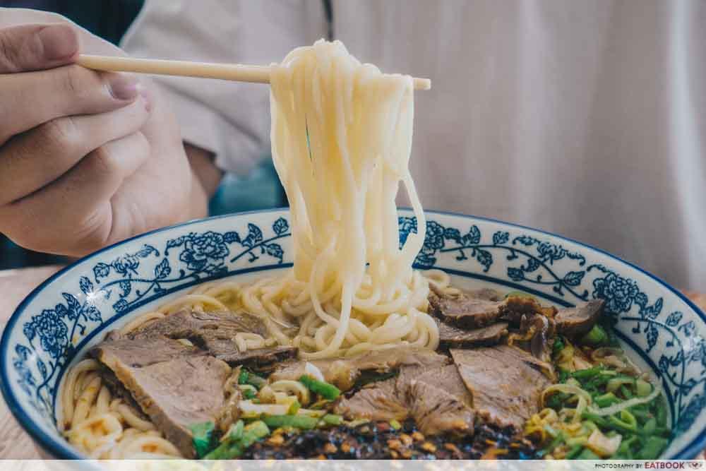 Niu Zou La Mian - noodles