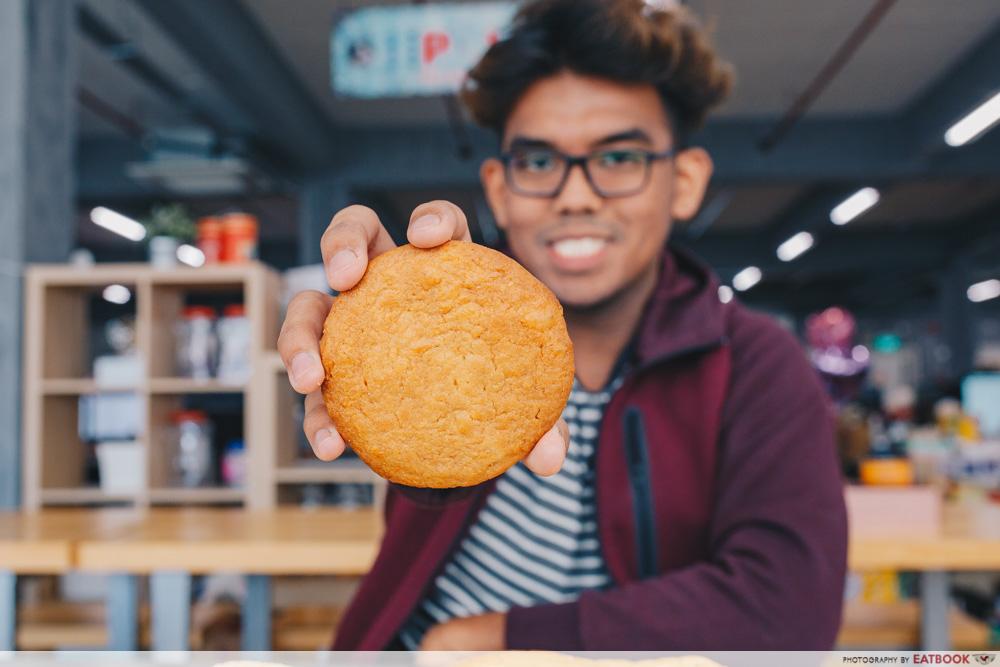 Subway Egg Mayo Pineapple Cookie