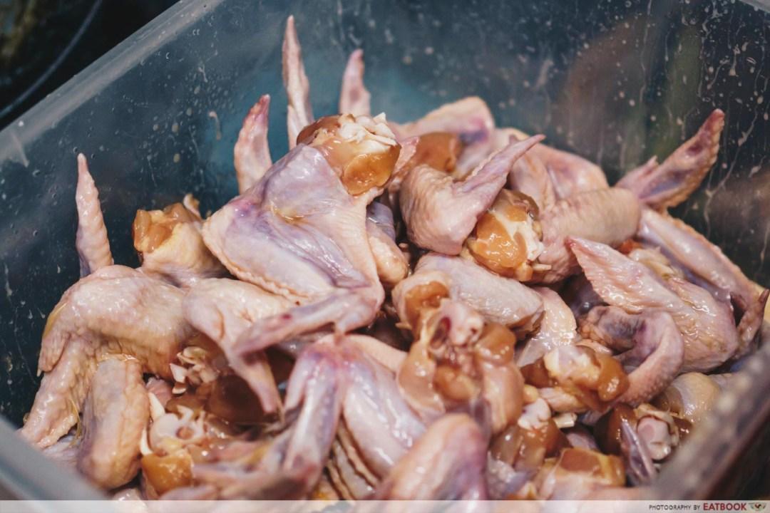 Victor Fried Chicken Wing RIce - seasoning chicken