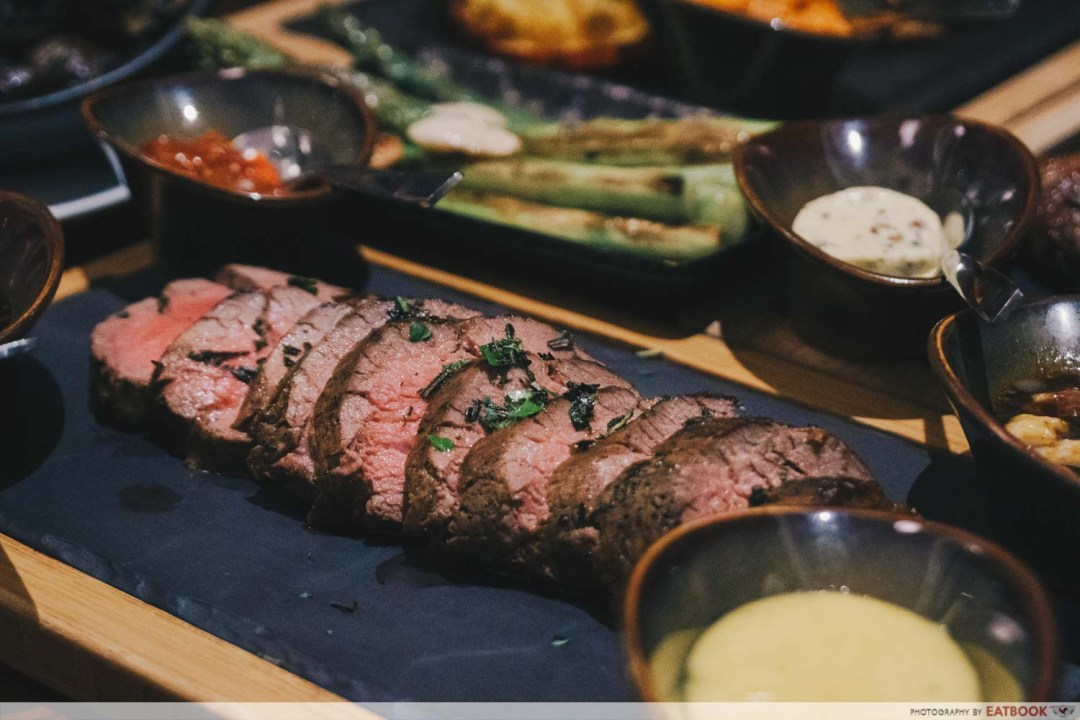 10 New Restuarants April - OPus Bar and Grill Chateaubriand