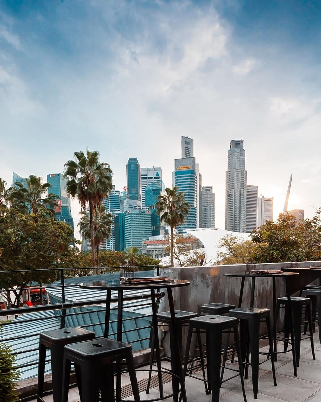 10 rooftop restaurants - Supply & demand