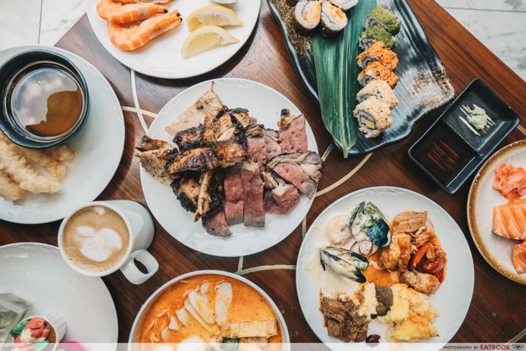 Chope Deals Buffet Food Capital