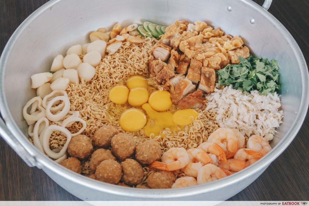 Flying Wok - Giant Tom Yum Seafood Hot pot