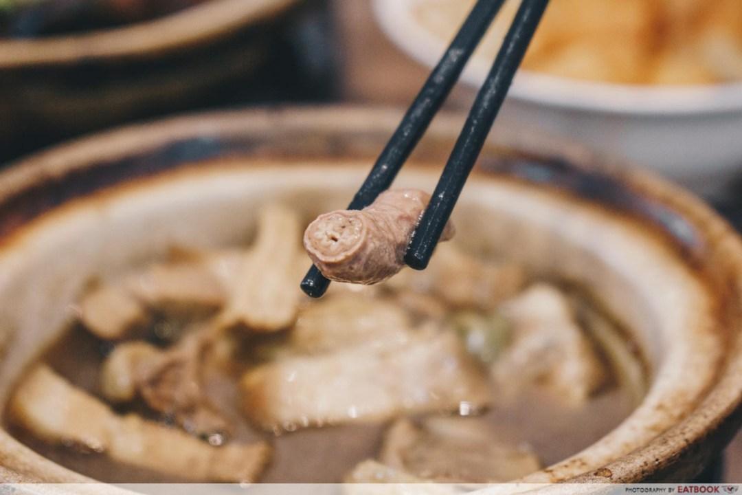 Good Taste Bak Kut Teh - Small Intestine Closeup