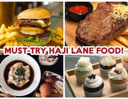 Haji Lane Food - Feature Image