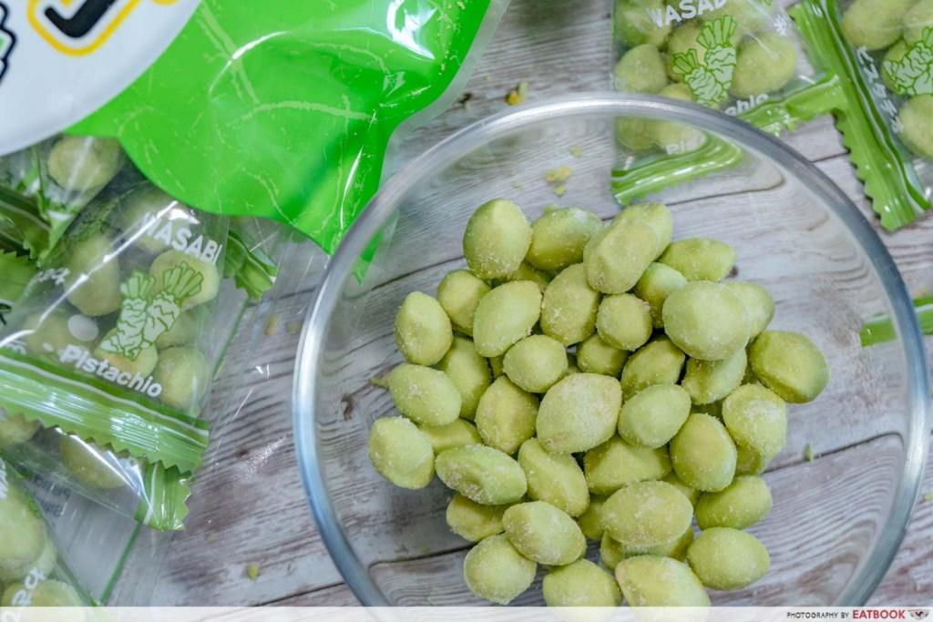 Japan Hyper Fest Sennarido Crispy Green Wasabi Pistachio Snack