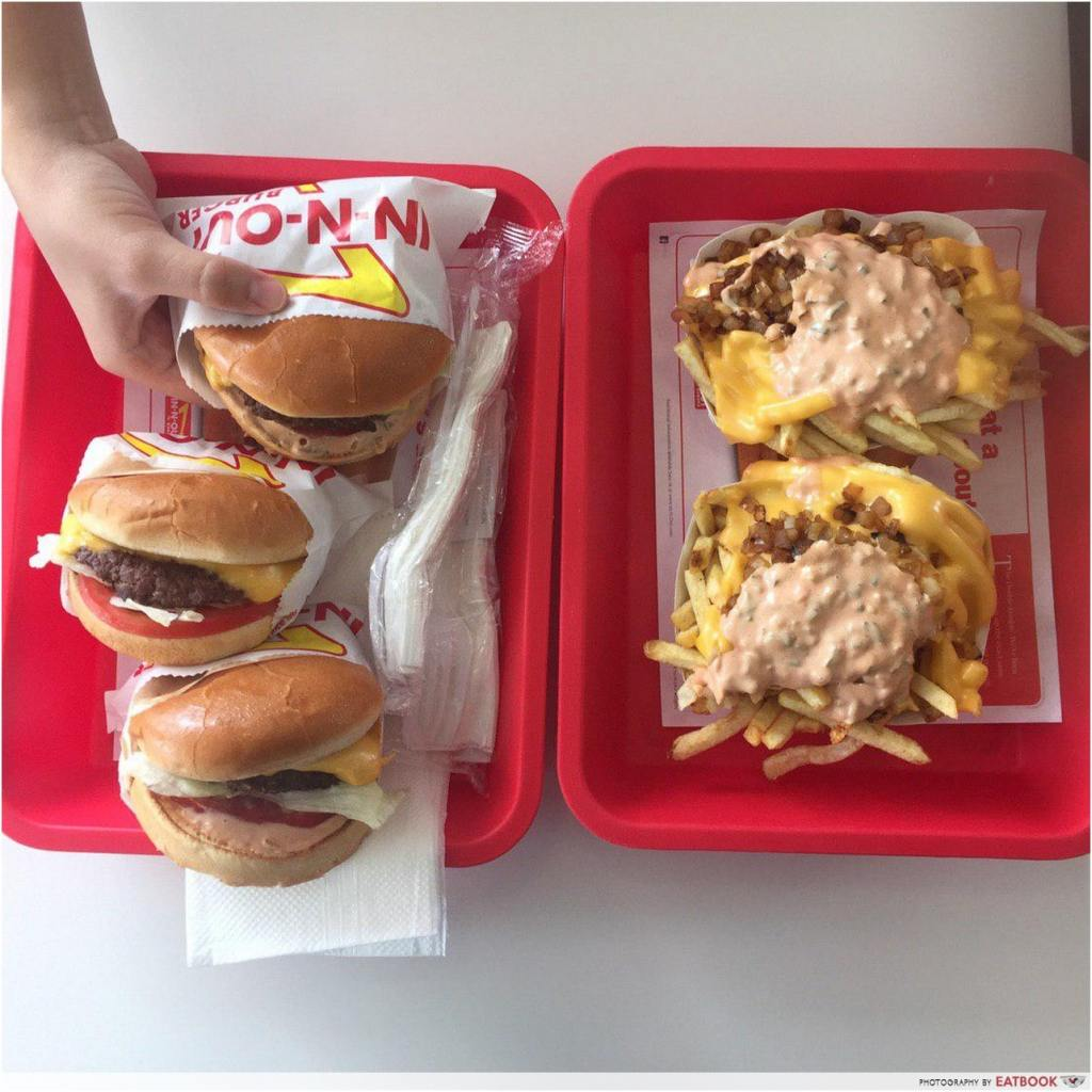 in n out singapore pop up