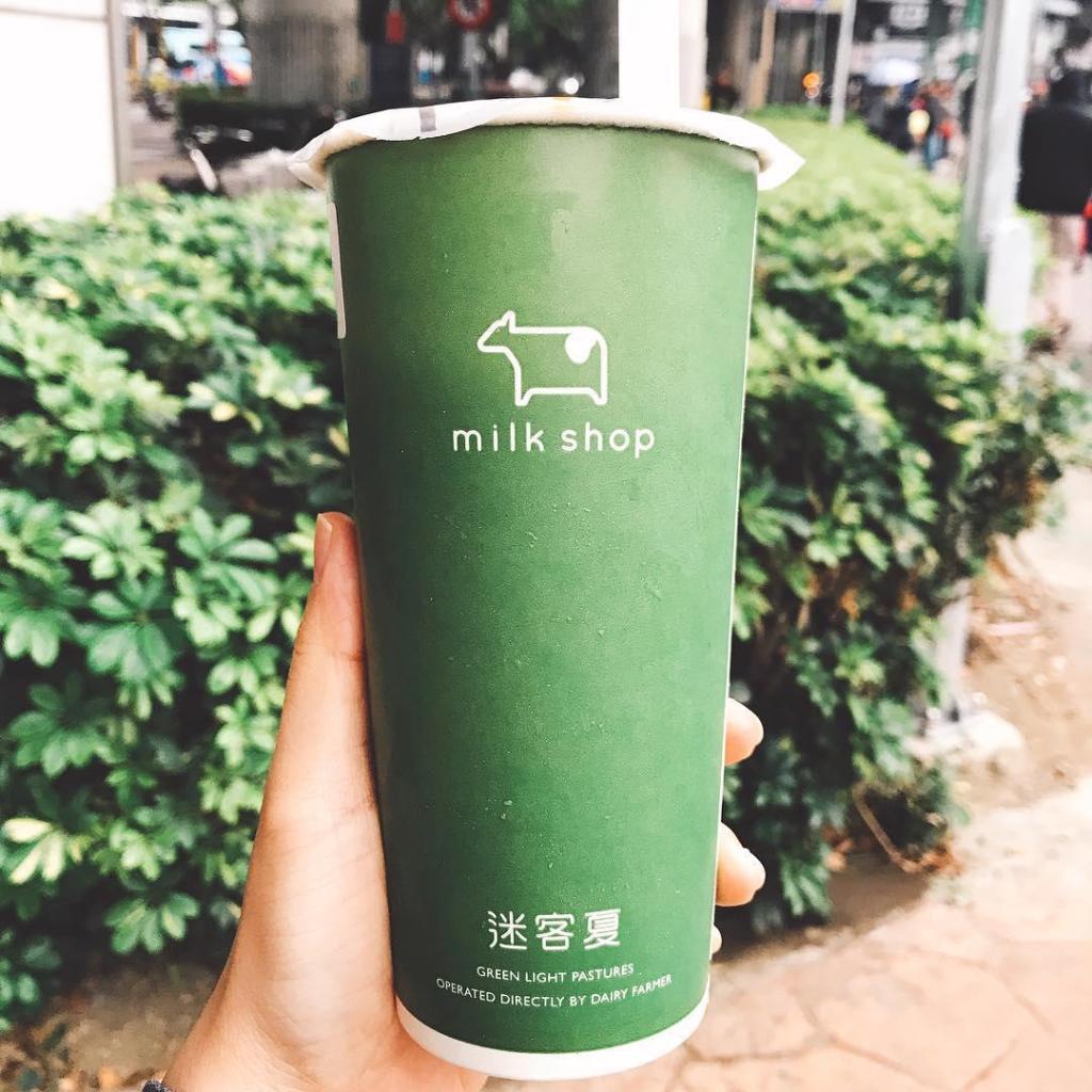 shilin night market singapore- milkshop