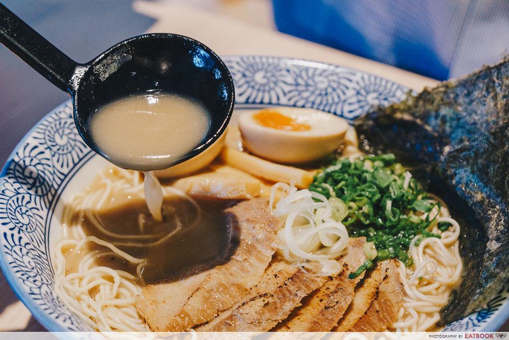 so ramen uoboshi tonkotsu toroniku soup