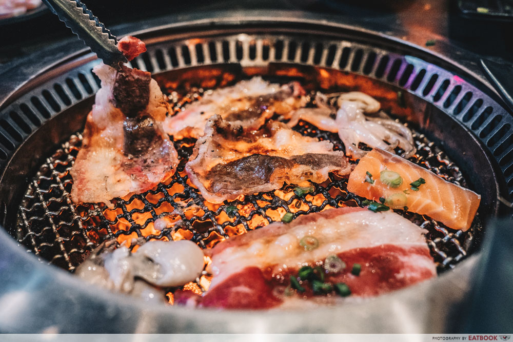 Affordable buffets in town rocku yakiniku grill
