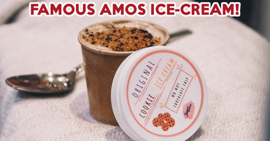 Famous Amos Ice-Cream - cover image