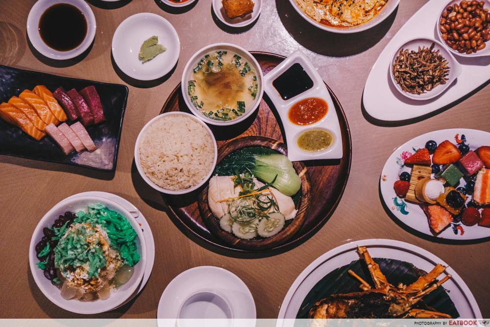 Maybank 1-For-1 - Town Restaurant Flatlay