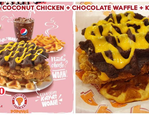 POPEYES CHOCOLATE WAFFLE CHICKEN