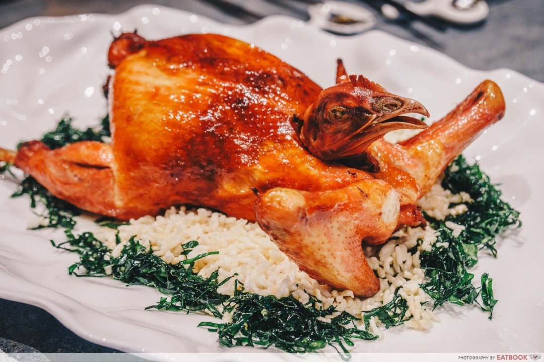 12 New Restaurants June - Shang Social Deep Fried Whole Bomeless Chicken Filled with Glutinous Rice