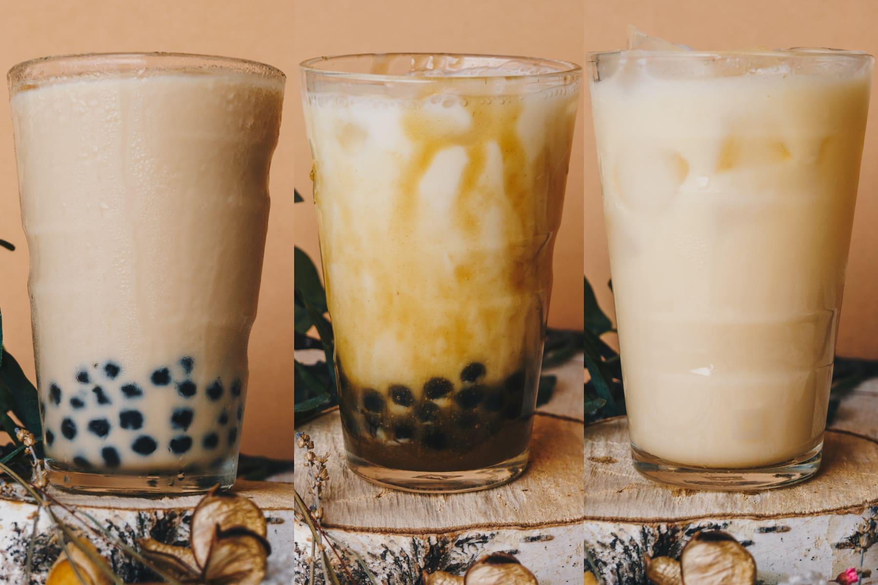 3 bubble tea recipes