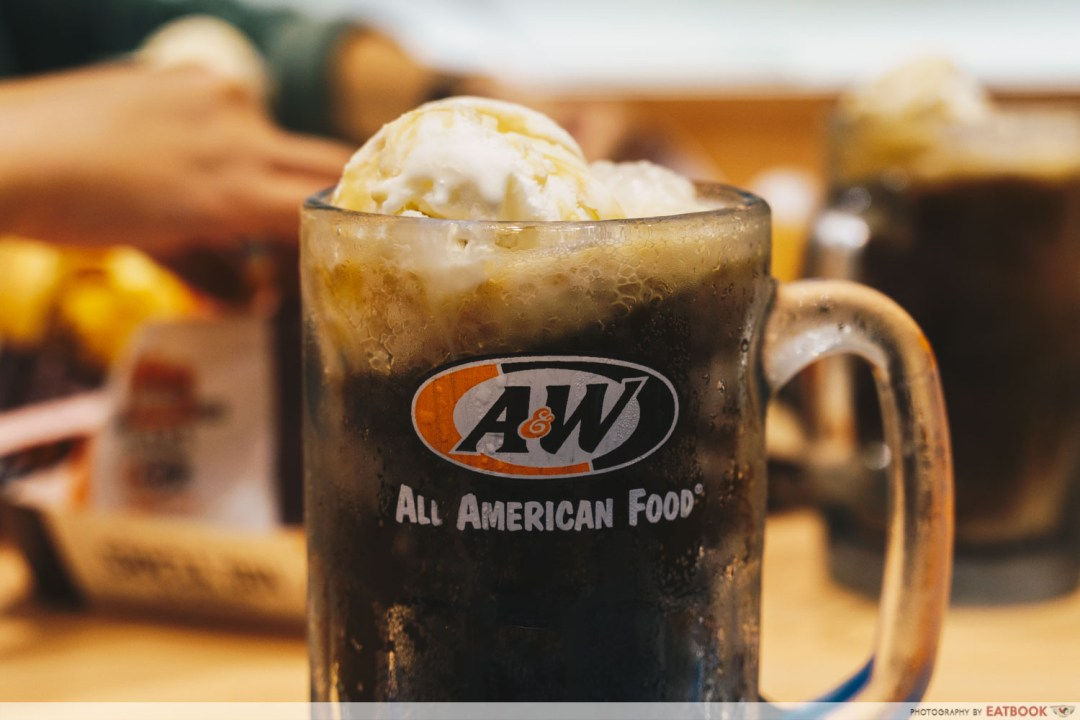 A&W - Root Beer Float