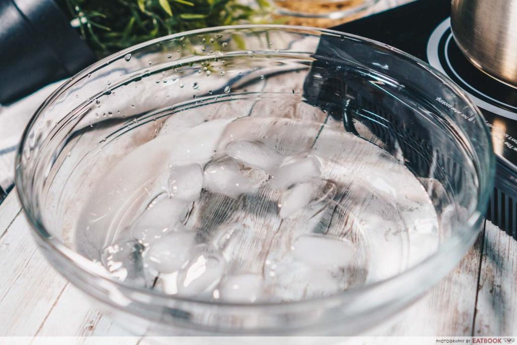 Brown Sugar Fresh Milk Recipe ice bath