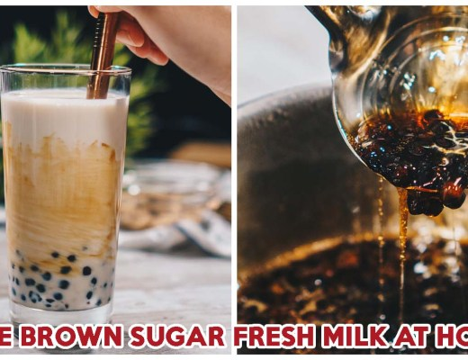 Brown Sugar Fresh Milk Recipe