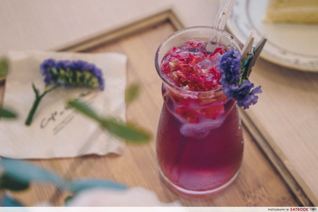 Cafe De Nicole's Flower - Mermaid Tears Post Mixing