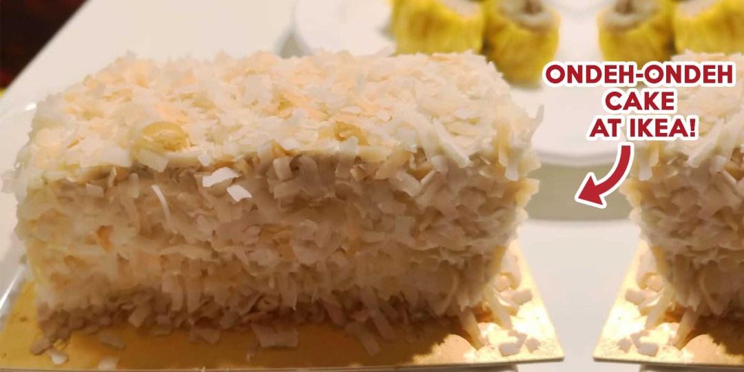 IKEA ONDEH ONDEH CAKE