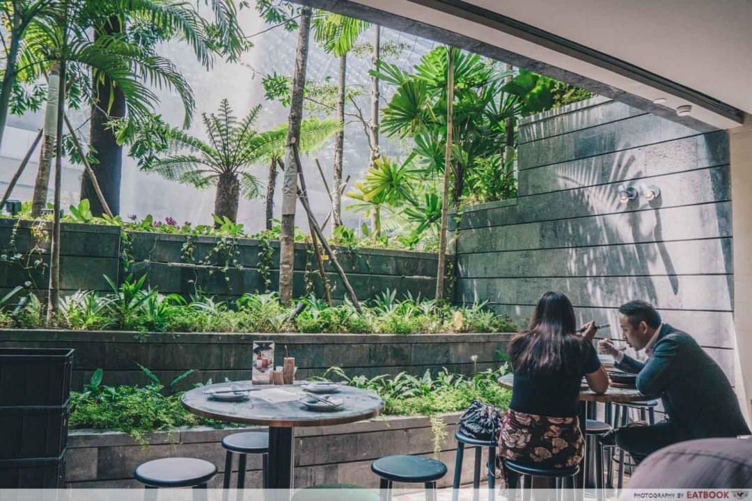 Shang Social - Jewel HSBC vortec view from restaurant