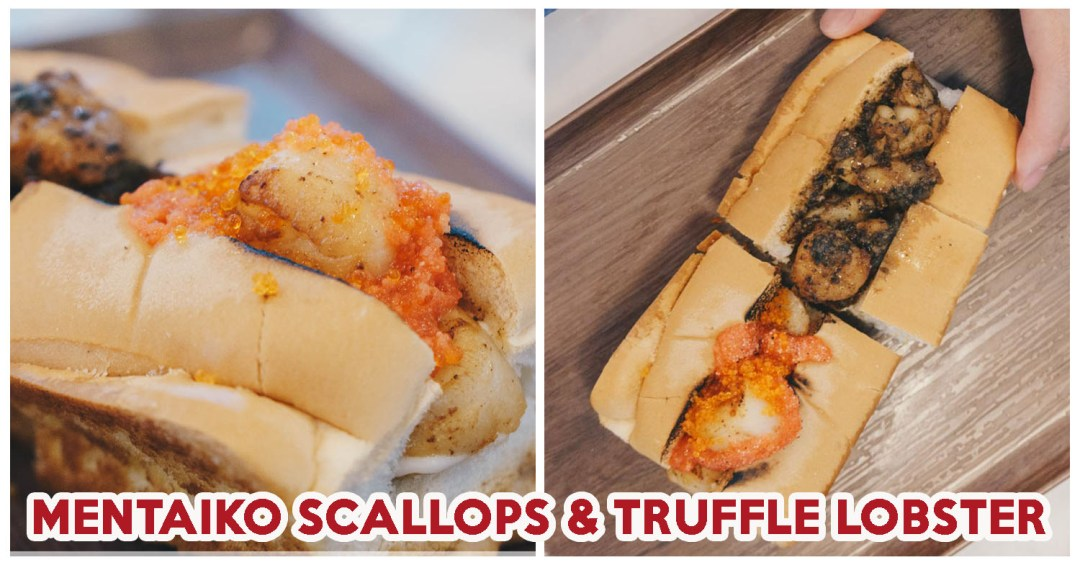 Lobsters & Ice Cream V2.0 - Cover image mentaiko scallops & Truffle Lobster