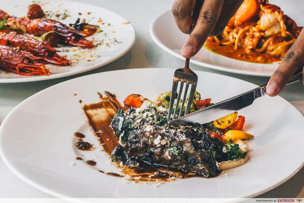 maybank michelin beautiful restaurants zafferano manzo verdure di stagione