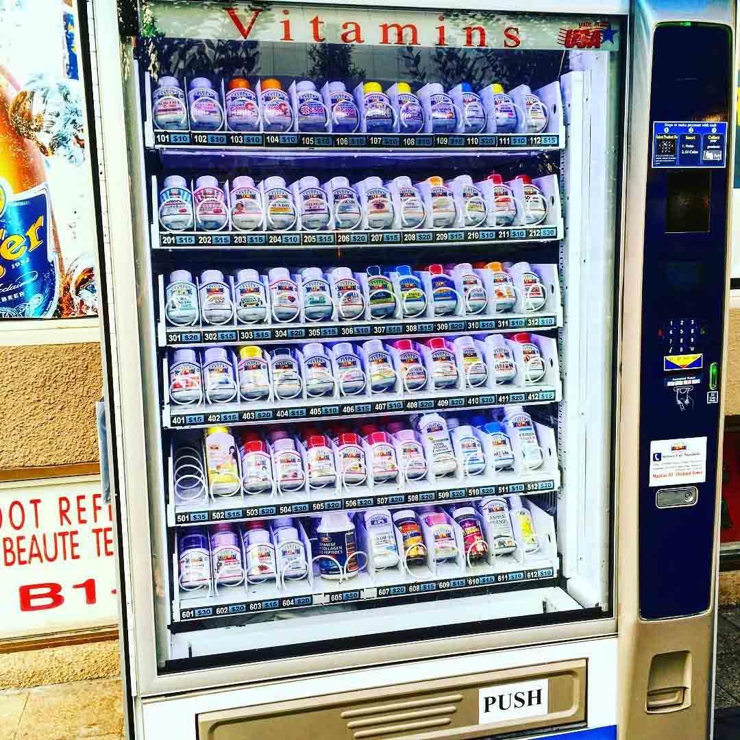 vending machines vitamins