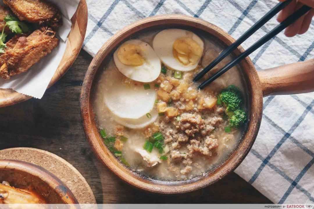 Jok Jok Mor - Pork porridge