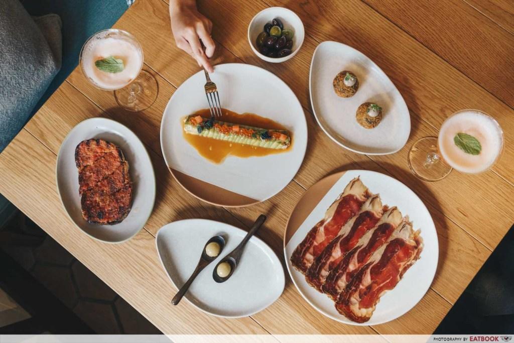 Olivia Restaurant And Lounge Flatlay