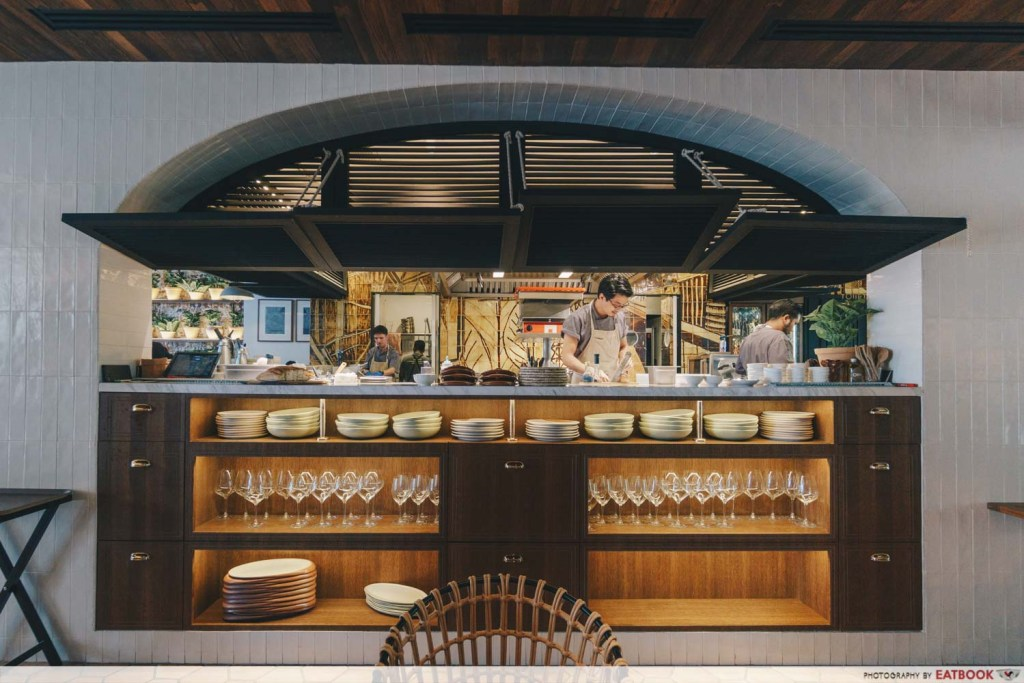 Olivia Restaurant And Lounge Kitchen