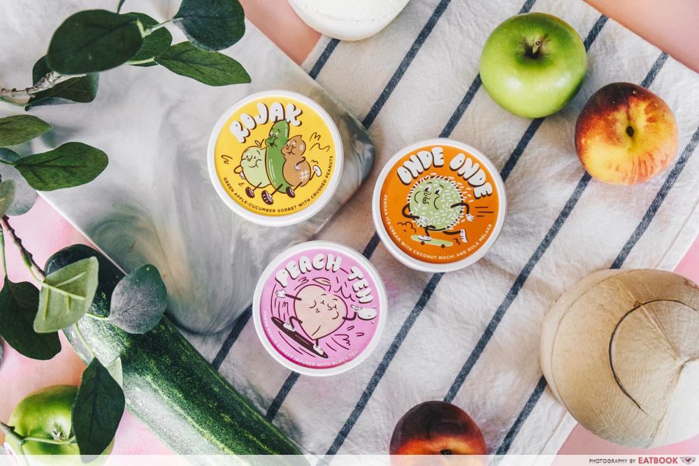 Three Ice-Cream Cups
