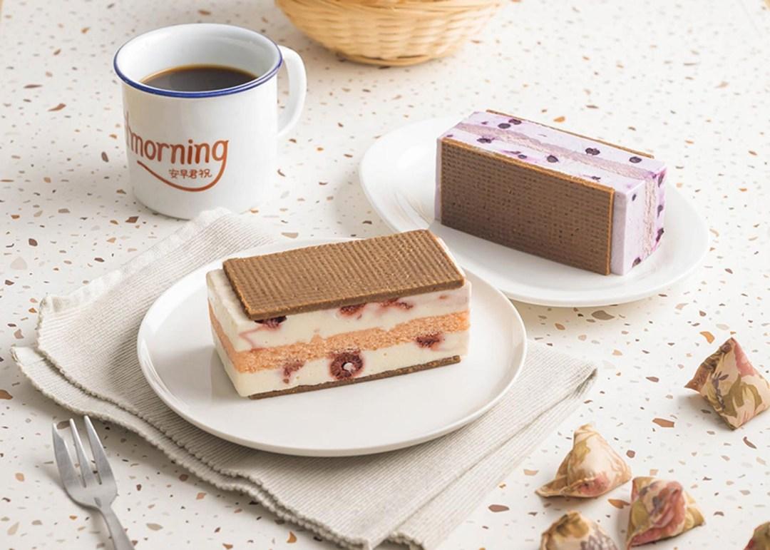 Starbucks Ice Cream Sandwich - Raspberry Cheesecake