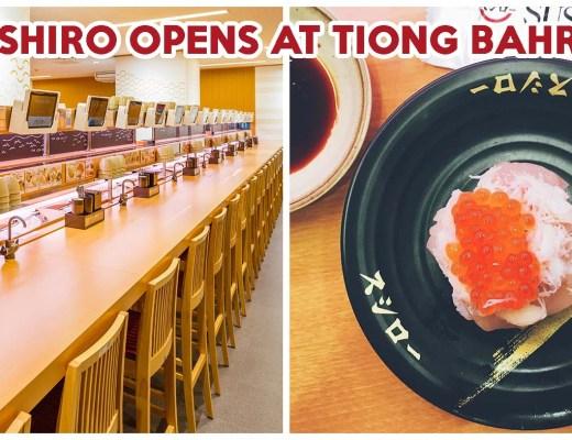 Sushiro opens at tiong bahru