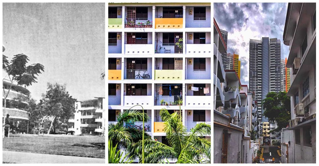 Tiong Bahru History - History Collage