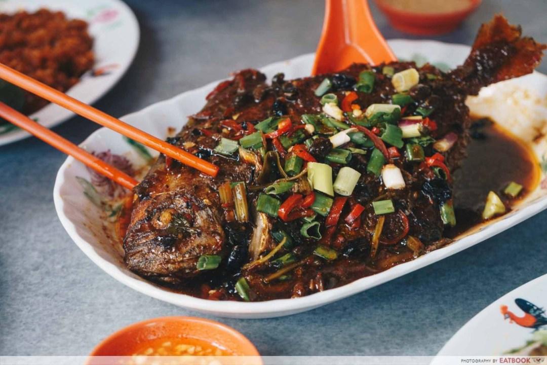 White House Teochew Porridge - Fish