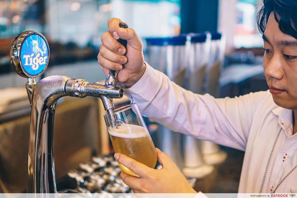 free flow beer