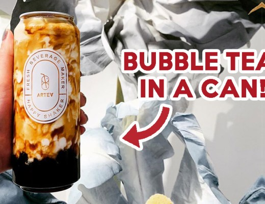 brown sugar bubble milk artea