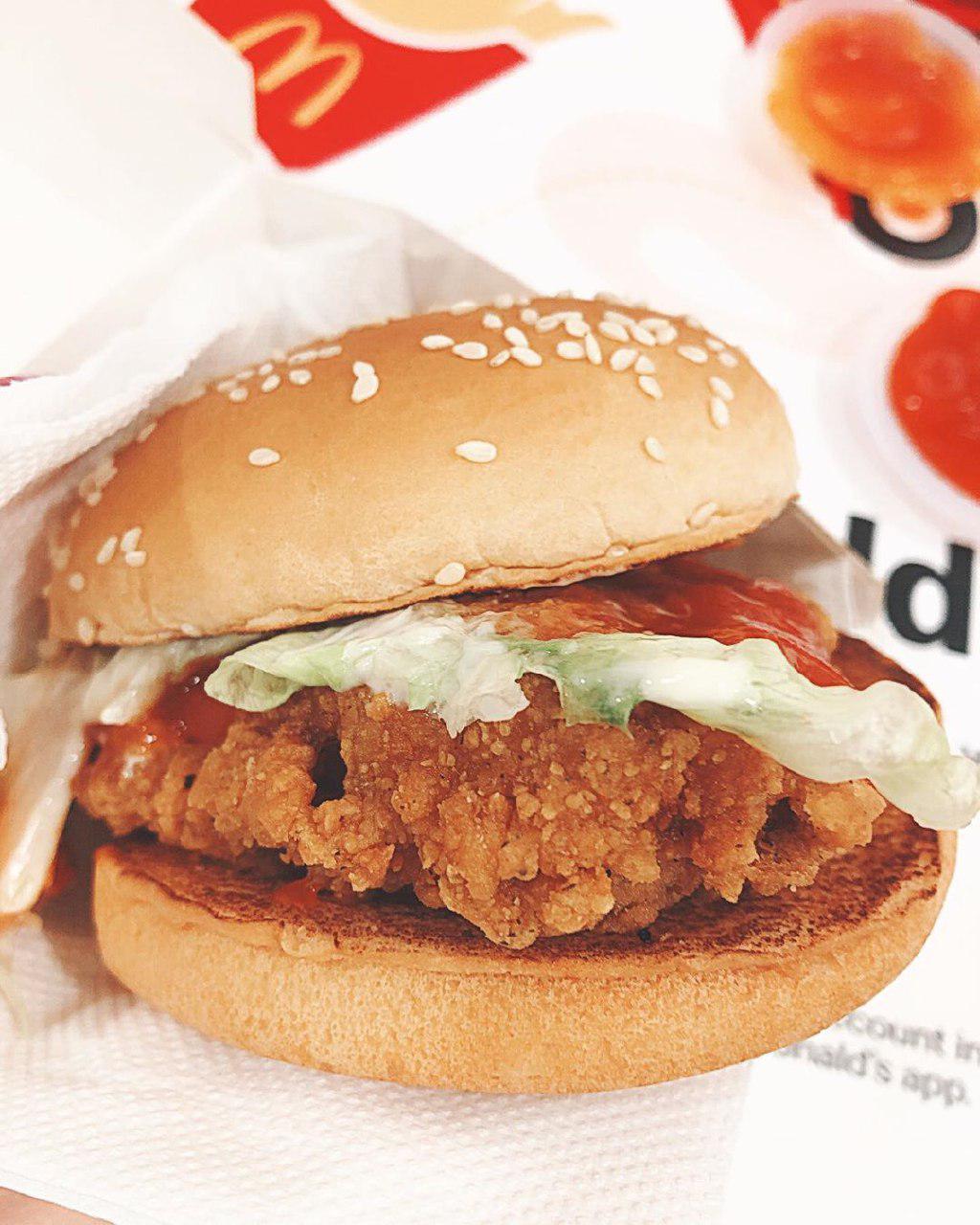 McSpicy Burger