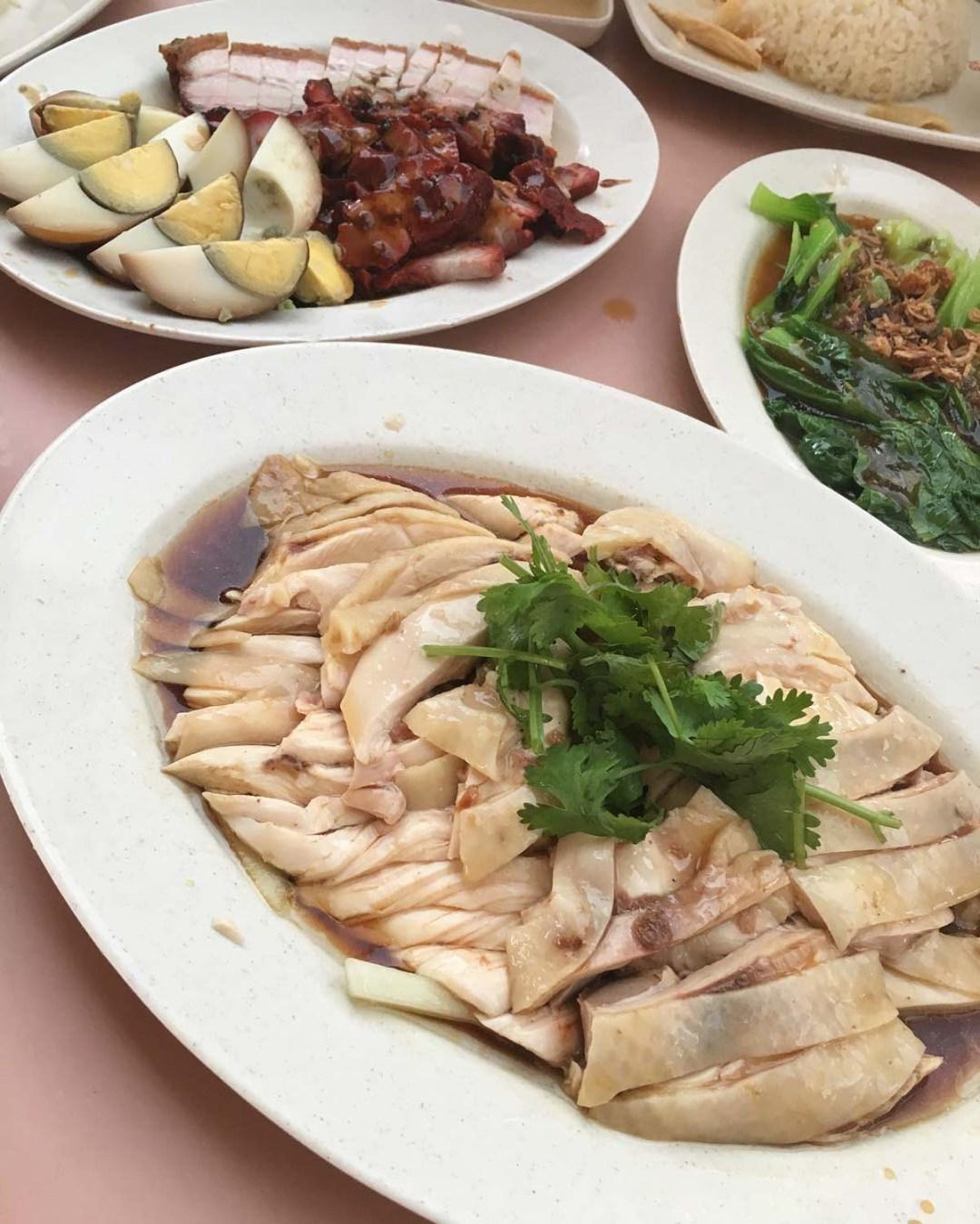Kebun Baru Food Centre - Chye Ji Hainanese Chicken Rice