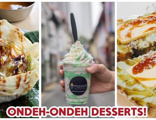 Ondeh Ondeh Desserts