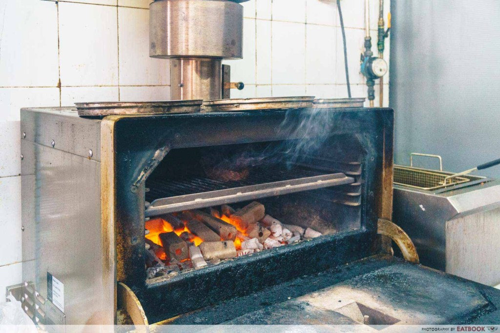 The Social Outcast - Charcoal oven