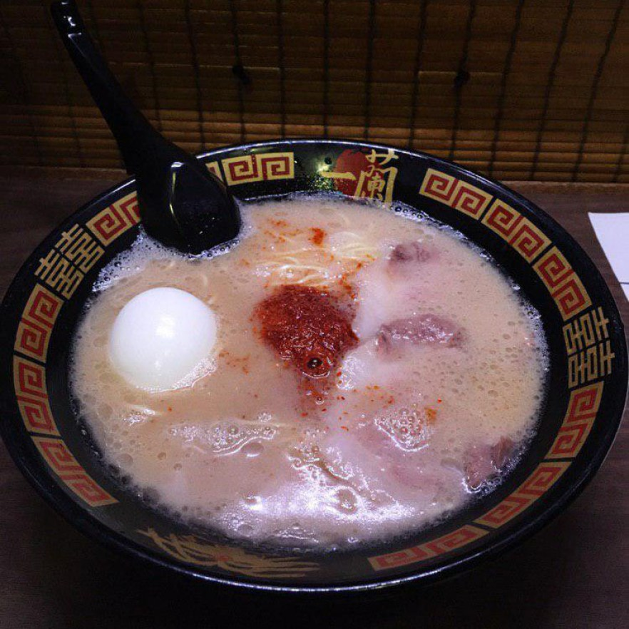 ichiran ramen singapore red sauce
