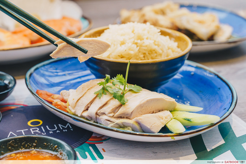 Holiday Inn Singapore Atrium Restaurant chicken rice