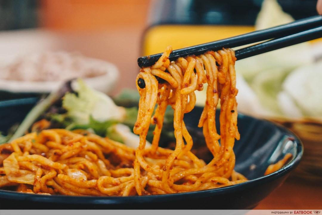 Dry Spicy Ramen